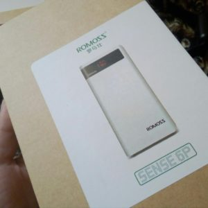 Power Bank Romoss Sense 6P 20000 Mah
